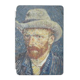 Protection iPad Mini Autoportrait de Vincent van Gogh | avec le chapeau