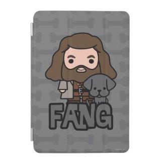 Protection iPad Mini Bande dessinée Hagrid et art de caractère de croc