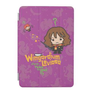 Protection iPad Mini Bande dessinée Hermione et charme de Ron