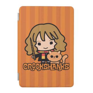 Protection iPad Mini Bande dessinée Hermione et Crookshanks