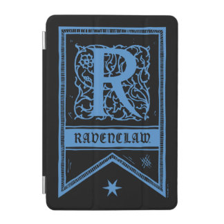 Protection iPad Mini Bannière de monogramme de Harry Potter | Ravenclaw