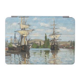Protection iPad Mini Bateaux de Claude Monet | montant sur la Seine à
