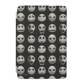 Protection iPad Mini Beaucoup de visages de Jack Skellington - motif