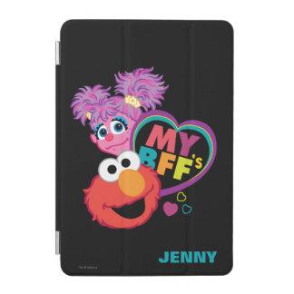 Protection iPad Mini BFF Abby et Elmo | ajoutent votre nom