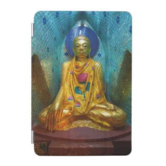 Protection iPad Mini Bouddha dans l'alcôve fleurie