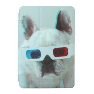 Protection iPad Mini Bouledogue français avec les verres 3D
