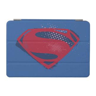 Protection iPad Mini Brosse de la ligue de justice | et symbole tramé