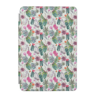 Protection iPad Mini Cactus exotique d'aquarelle de Boho et motif