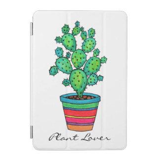 Protection iPad Mini Cactus magnifique d'aquarelle dans le beau pot