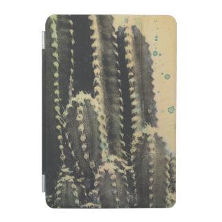 Protection iPad Mini Cactus vert sur l'arrière - plan jaune