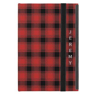 Protection iPad Mini Caisse d'air d'iPad de plaid de Buffalo
