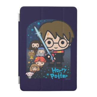 Protection iPad Mini Chambre de Harry Potter de bande dessinée des