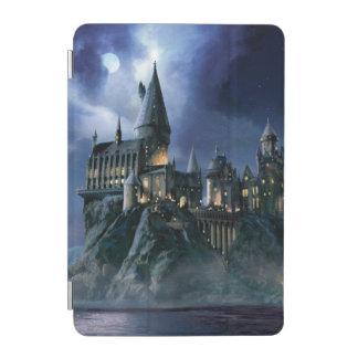 Protection iPad Mini Château | Hogwarts éclairé par la lune de Harry