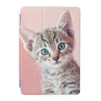 Protection iPad Mini Chaton mignon avec les yeux bleus