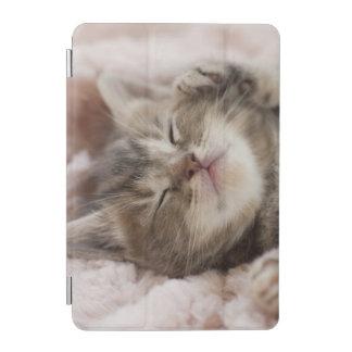 Protection iPad Mini Chaton somnolent