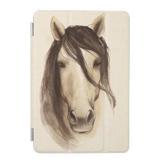 Protection iPad Mini Cheval des animaux   de grange d'aquarelle