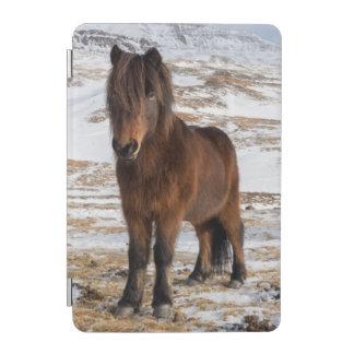 Protection iPad Mini Chevaux islandais en hiver