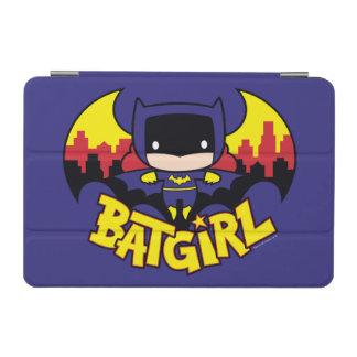 Protection iPad Mini Chibi Batgirl avec l'horizon et le logo de Gotham