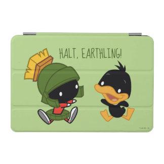 Protection iPad Mini Chibi MARVIN le MARTIAN™ et le DAFFY DUCK™