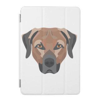 Protection iPad Mini Chien Brown Labrador d'illustration