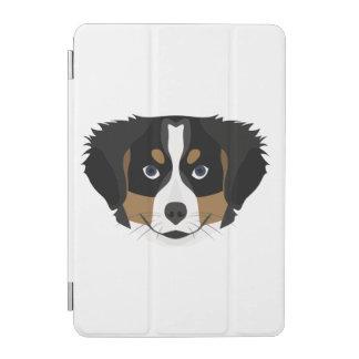 Protection iPad Mini Chien de montagne de Bernese d'illustration