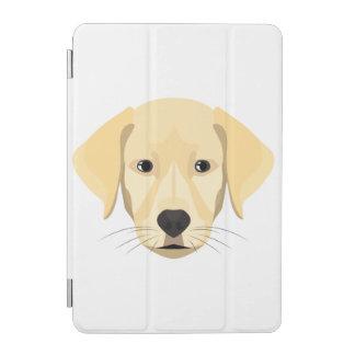 Protection iPad Mini Chiot Retriver d'or d'illustration