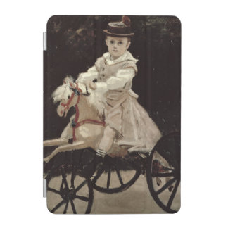 Protection iPad Mini Claude Monet | Jean Monet sur son cheval de