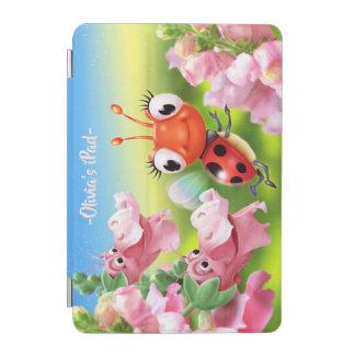 Protection iPad Mini Coccinelle faite sur commande et couverture