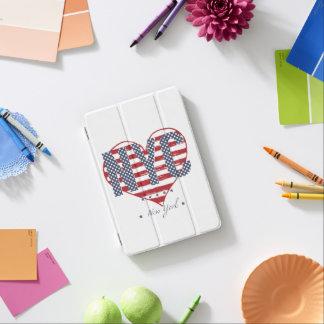 Protection iPad Mini Coeur de drapeau américain de NYC