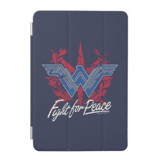Protection iPad Mini Combat de femme de merveille pour le symbole de