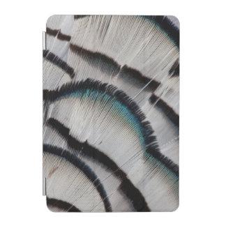 Protection iPad Mini Conception argentée de plume de faisan