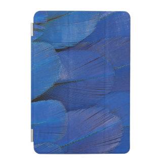 Protection iPad Mini Conception bleue de plume d'ara de jacinthe
