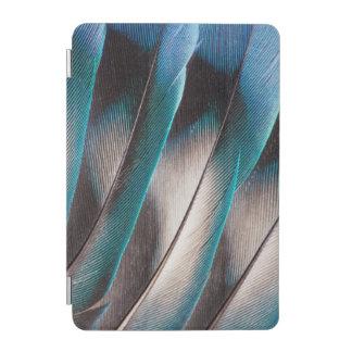 Protection iPad Mini Conception bleue de plume d'inséparable