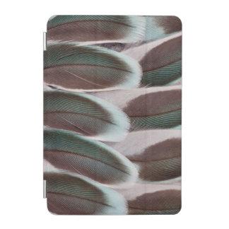 Protection iPad Mini Conception de plume d'aile de perruche