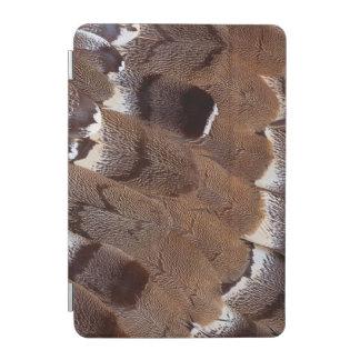 Protection iPad Mini Conception de plume de Brown