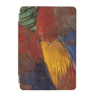 Protection iPad Mini Conception de plume de faisan d'or