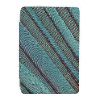 Protection iPad Mini Conception de plume de martin-pêcheur de turquoise