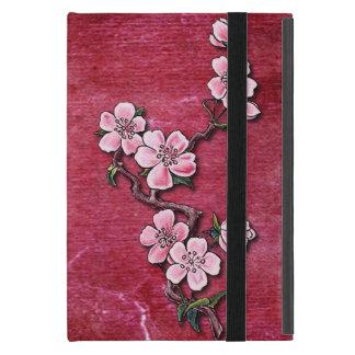 Protection iPad Mini Conception florale de tatouage de fleurs de