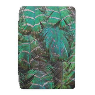 Protection iPad Mini Conception verte de plume de paon