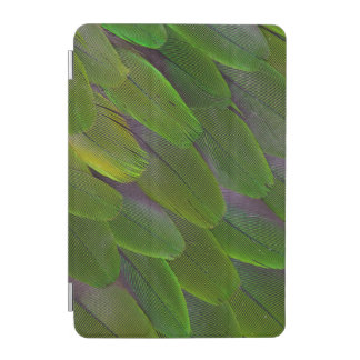 Protection iPad Mini Conception verte de plume de perroquet de caïque