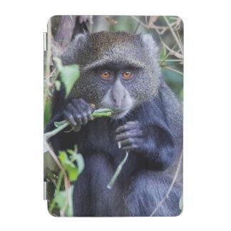 Protection iPad Mini Consommation bleue de singe