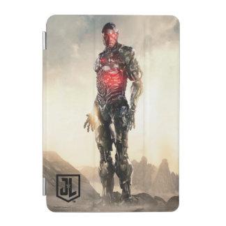 Protection iPad Mini Cyborg de la ligue de justice | sur le champ de