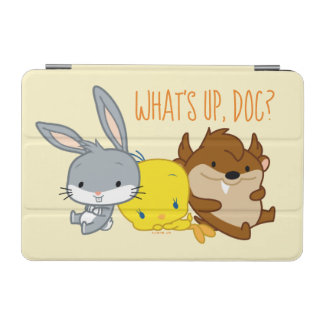 Protection iPad Mini ™ de Chibi BUGS BUNNY, TWEETY™, et TAZ™