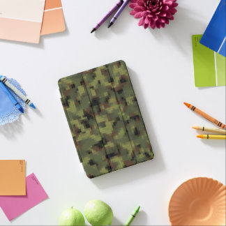 Protection iPad Mini Digitals vertes Camo militaire