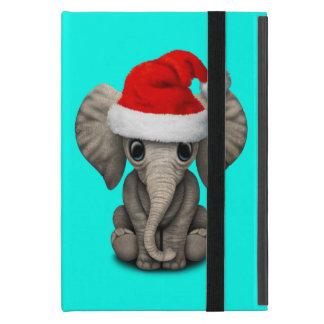 Protection iPad Mini Éléphant de bébé utilisant un casquette de Père
