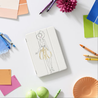 Protection iPad Mini Énonciations de style d'Apple sauvage | - robe
