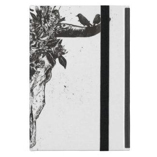 Protection iPad Mini Été mort (noir et blanc)