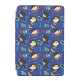 Protection iPad Mini Femme de merveille de Chibi, Superman, et motif de