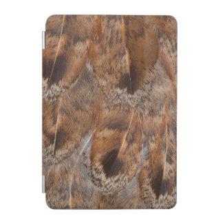 Protection iPad Mini Fermez-vous des plumes de Brown