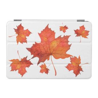 Protection iPad Mini Feuille d'érable d'aquarelle